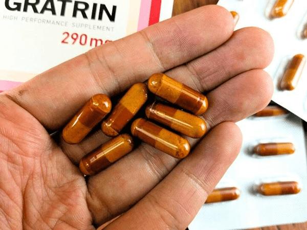 グラトリンの錠剤